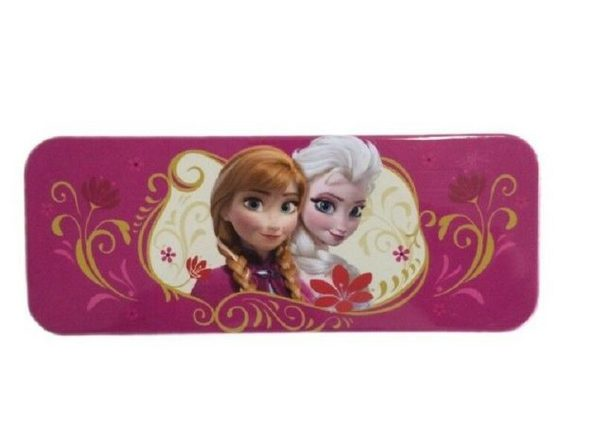 Frozen Anna & Elsa Rectangular Tin Case - Product Image