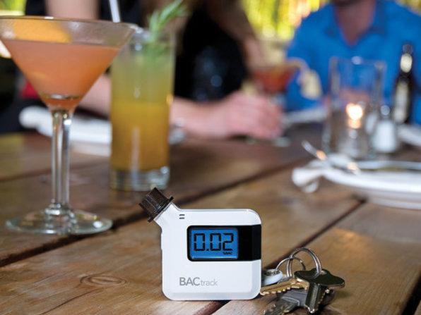 The BACtrack S35 Pocket-Sized Breathalyzer - Get Home Safe