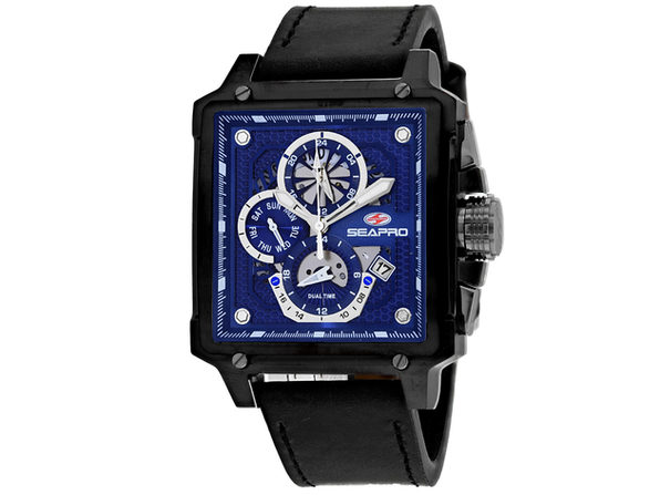 Seapro Men's Blue Dial Watch - SP0115