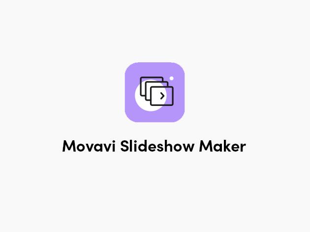 Movavi Slideshow Maker 7 for Mac & Windows: Personal Lifetime License