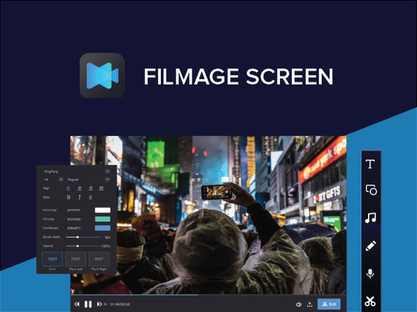 Filmage Screen for Mac: Lifetime License - Product Image