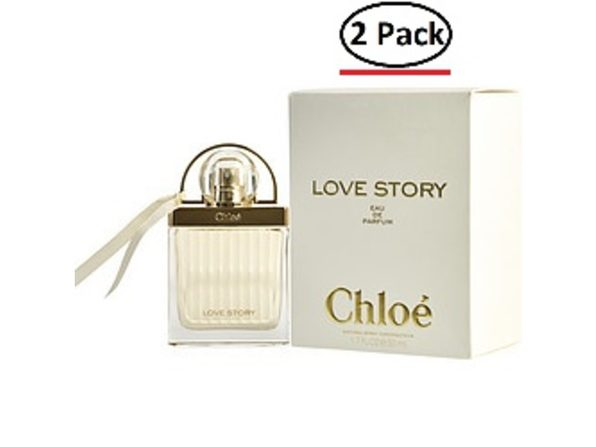 CHLOE LOVE STORY by Chloe EAU DE PARFUM SPRAY 1.7 OZ for WOMEN ---(Package Of 2) - Product Image