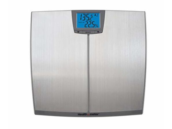 Health o Meter BFM144DQ3-99 Stainless Steel Body Fat Scale - Stainless Steel