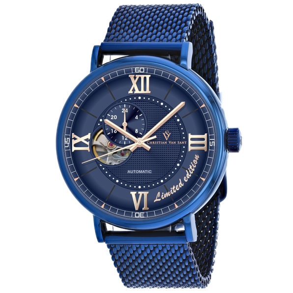 Christian Van Sant Men's Somptueuse LTD Blue Dial Watch - CV1145 - Product Image