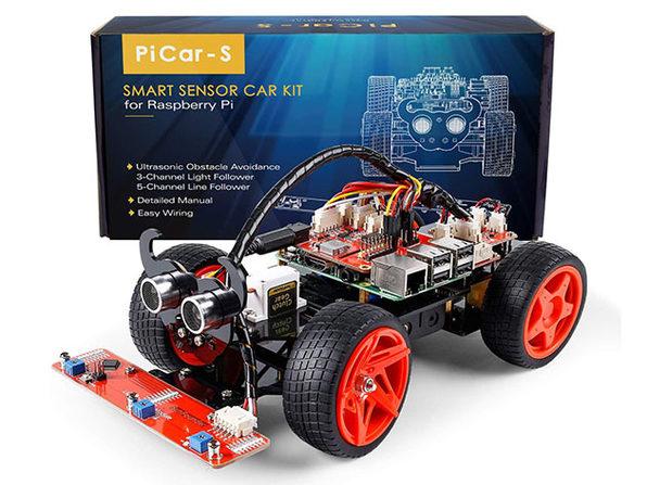 SunFounder PiCar-S Kit V2.0 for Raspberry Pi