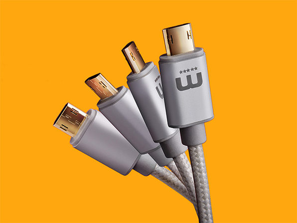 MicFlip Reversible Micro USB Cable