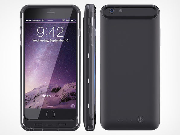 iPhone 6 Premium Covering Extended Battery 2400mAh - Product Image