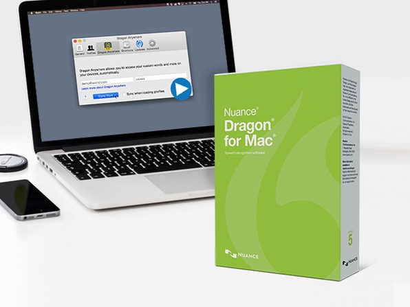 Dragon 5 for Mac (UK - English) - Product Image