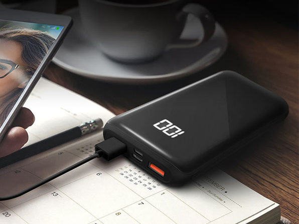 HyperGear Dual USB + USB-C Digital Power Bank