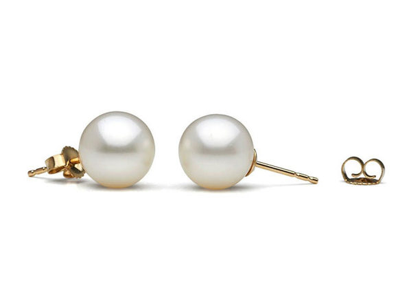 Freshwater Pearl Earrings (White)