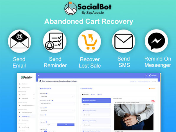 SocialBot by ZapApps: Lifetime Subscription (Accelerator)