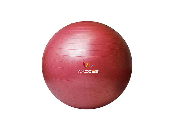 Wacces Anti-Burst Yoga Ball with Pump (Red)
