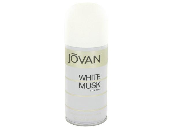 JOVAN WHITE MUSK by Jovan Deodorant Spray 5 oz for Men (Package of 2) - Product Image
