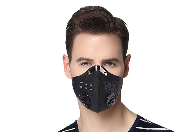 Dust Proof Mask with 3 Filters