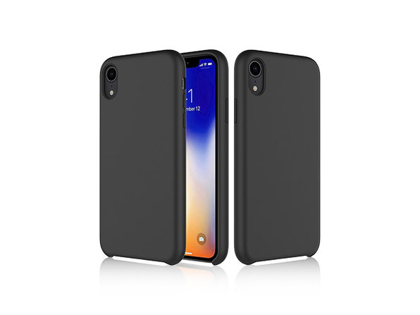 iPM Silicone iPhone X Series Case (iPhone XR/Black)