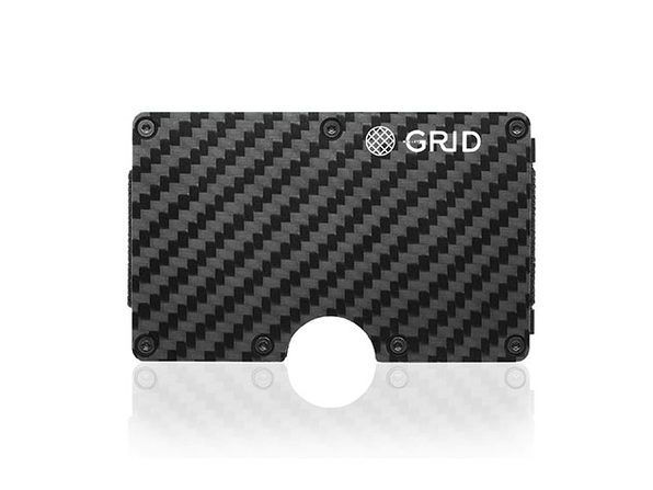 Grid Wallet (Carbon Fiber)