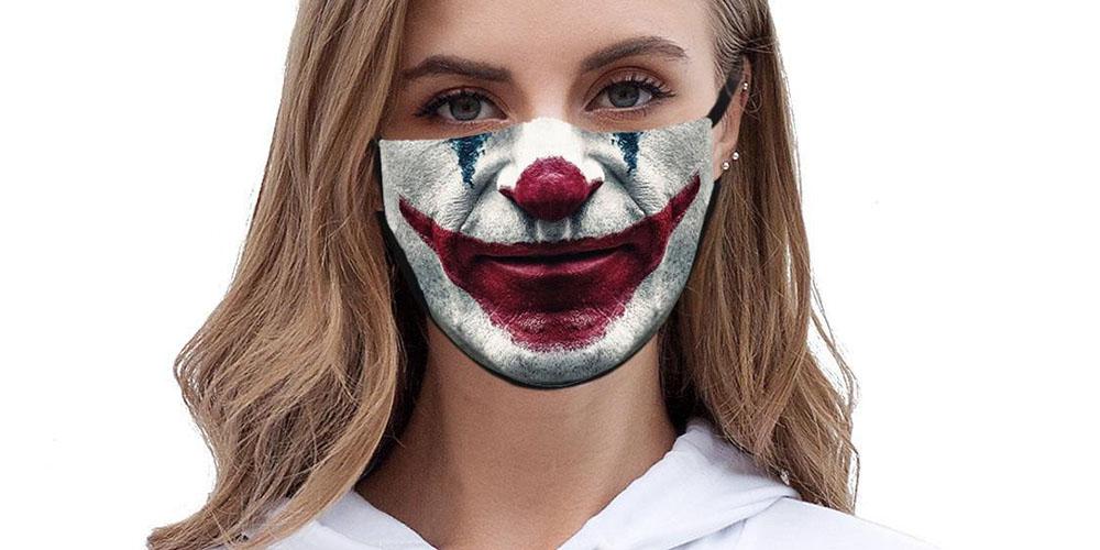 Joker Washable Face Masks: 2-Pack, on sale for $14.99 (25% off)