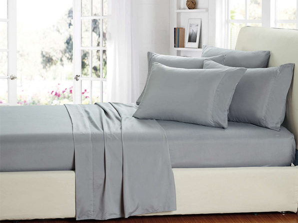 Smart Sheets® Gray Microfiber Sheet Set