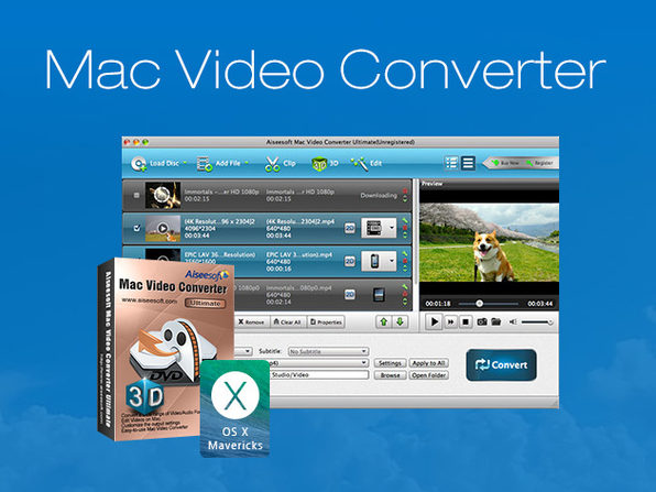 Mac Video Converter Ultimate - Product Image