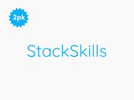 StackSkills Unlimited Lifetime for Business: 2-Account Bundle
