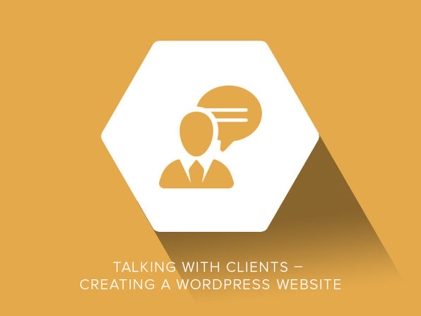 Talking With Clients – Creating a WordPress Website - Product Image