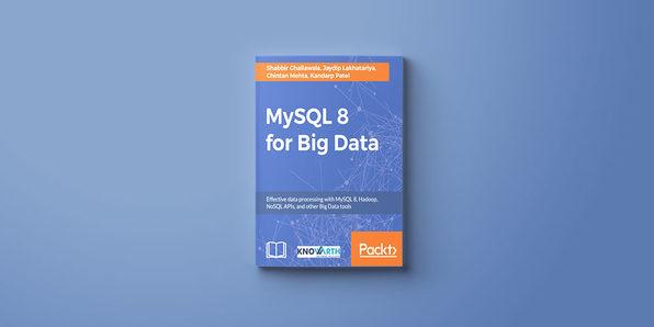 MySQL 8 for Big Data eBook - Product Image