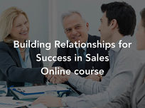 Building Relationships for Success in Sales - Product Image
