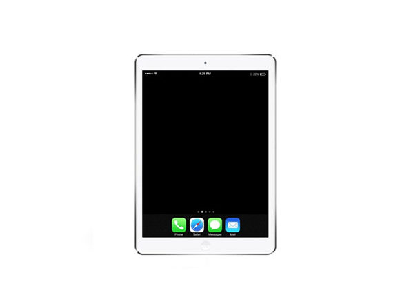 "Apple iPad Air 1 9.7"" 16GB Wi-Fi Silver (Certified Refurbished)"