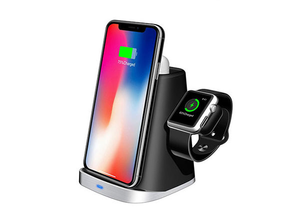 iPM 3-in-1 Apple Watch, iPhone & AirPods Wireless Charging Dock