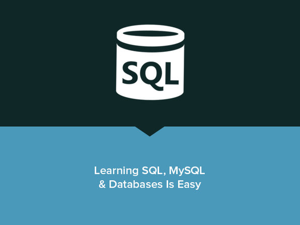 Learning SQL, MySQL & Databases Is Easy - Product Image