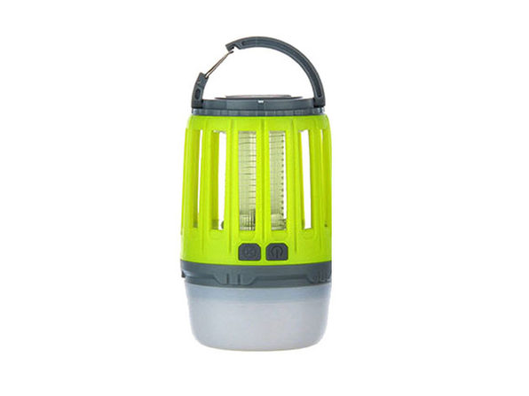 3-in-1 Waterproof Bug Zapper Lantern (Yellow)