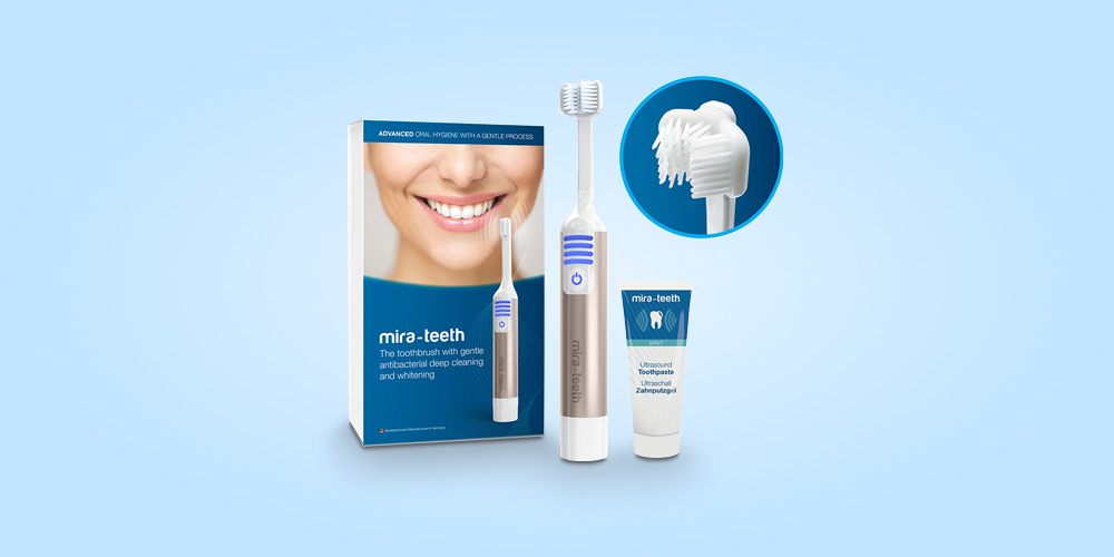 Clean and whiten your teeth with zero irritation