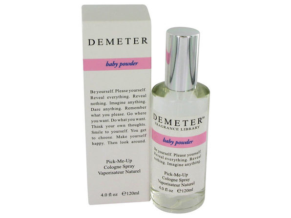 Demeter by Demeter Baby Powder Cologne Spray 4 oz for Women - Product Image