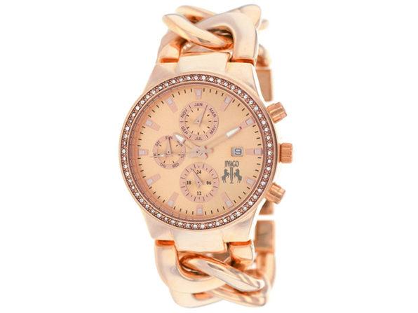 Jivago Women's Lev Rose Gold Dial Watch - JV1227