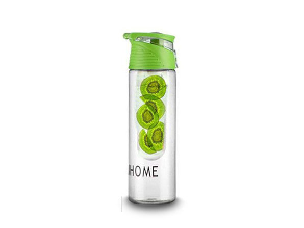 Fruit Infusing Water Bottle- green - Product Image