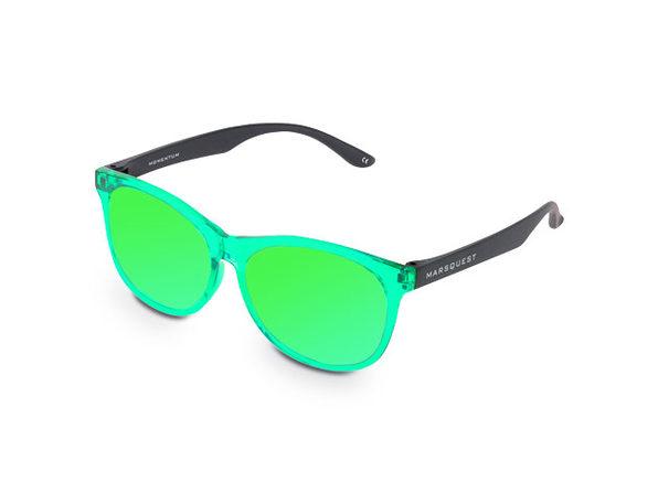 Momentum Sunglasses (Green/Green)