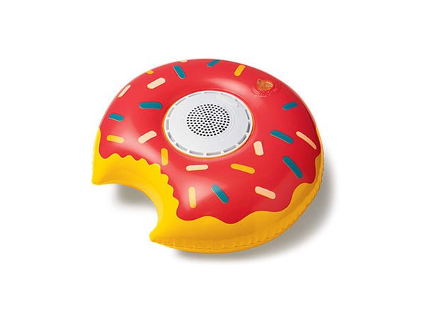 Inflatable Floating Waterproof Bluetooth Speaker - Donut - Product Image