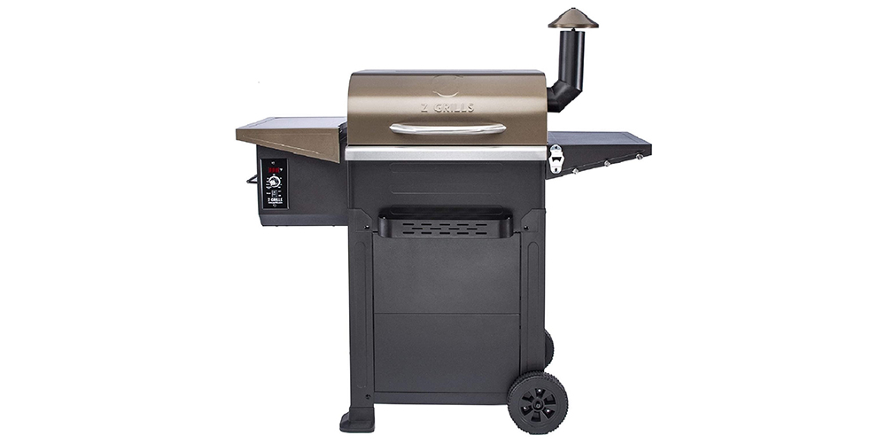 Z Grill 6002B 8-in-1 Portable Wood Pellet Grill & Smoker, on sale for $379 (11% off)
