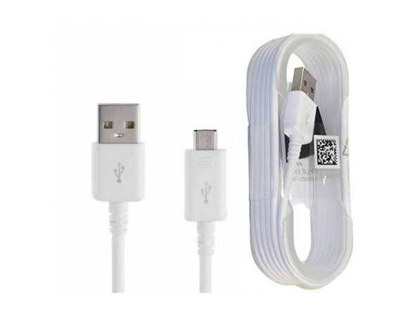 Samsung Micro USB Charge & Sync Cable, 5 feet, Non-Retail Packaging 3-Pack