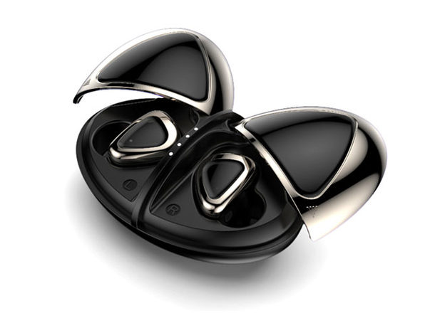Ladybug Bluetooth Earpods (Pearl Black)