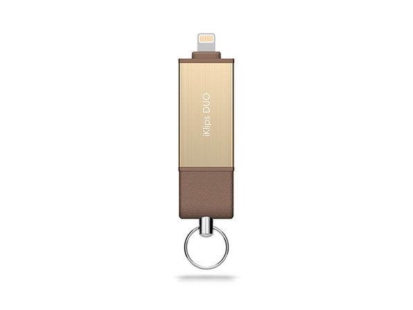 iKlips DUO Flash Storage Solution 32GB (Gold)