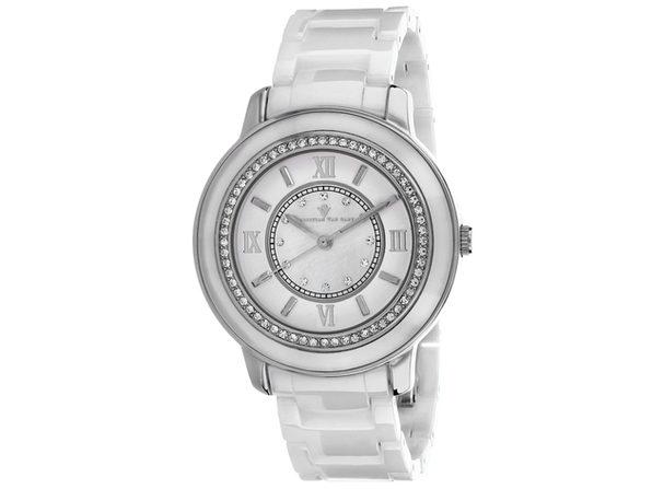 Christian Van Sant Women's Clay Mother of Pearl Dial Watch - CV3210