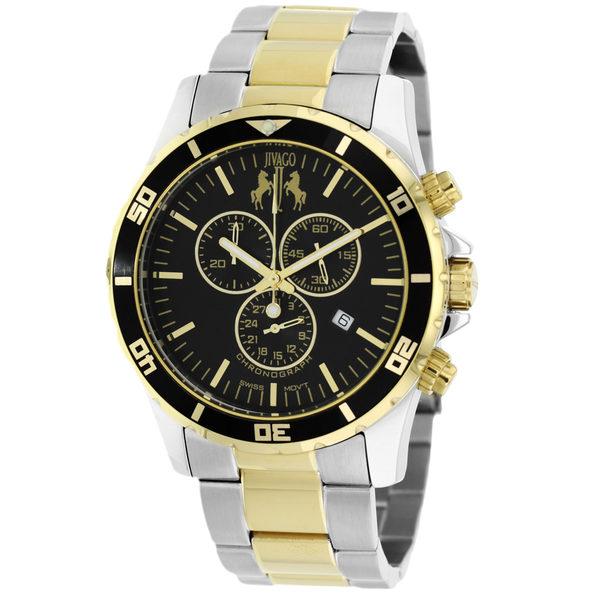 Jivago Men's Ultimate Black Dial Watch - JV6129 - Product Image