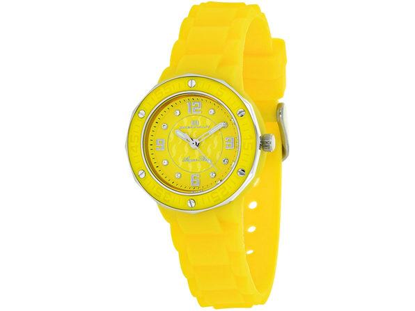Oceanaut Women's Acqua Star Yellow Dial Watch - OC0437