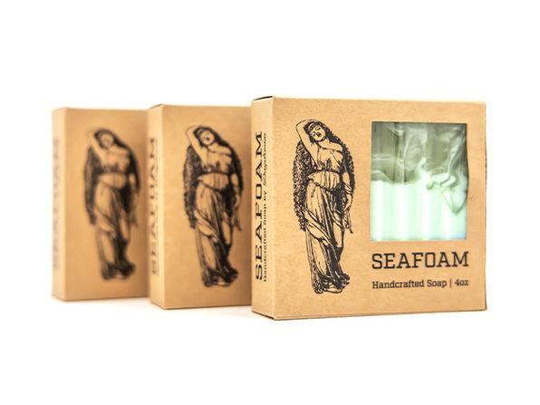 DayDream Goat Milk Soap Gift Set: 3 Pack (Seafoam)