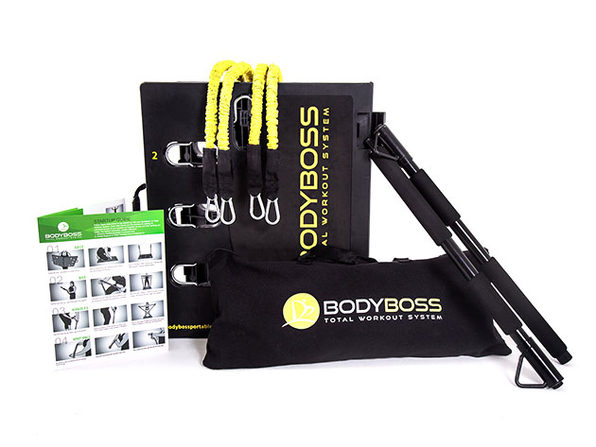 BodyBoss 2.0: Portable Home Gym + Extra Bands