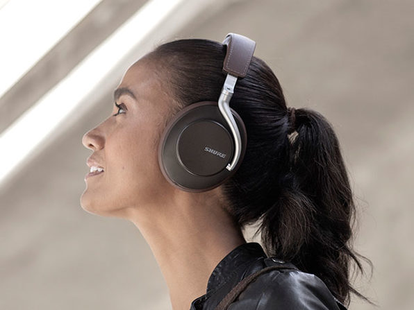 Shure AONIC 50 Wireless Noise-Cancelling Headphones (Brown)