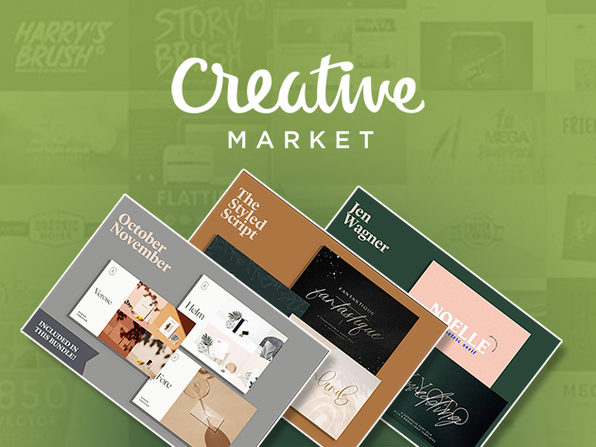 Design From Home: Creative Market Bundle - Product Image