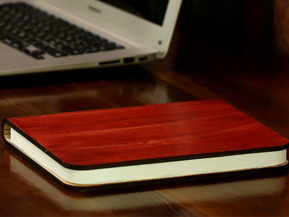 Booklet Lamp (Rosewood)