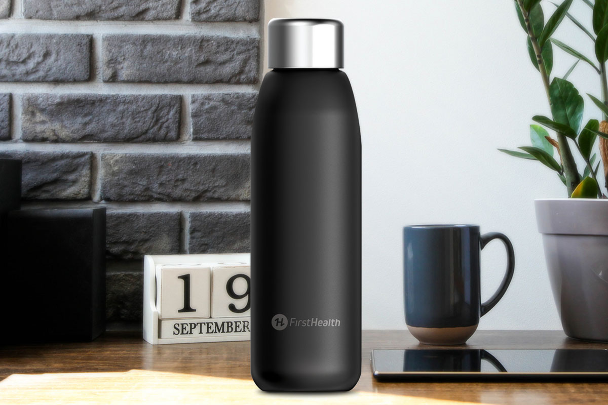 FirstHealthUV-C Disinfecting Water Bottle + Wand, on sale for $59.99 (25% off)